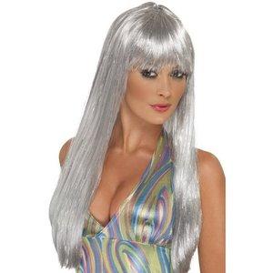 Peruk glitter disco