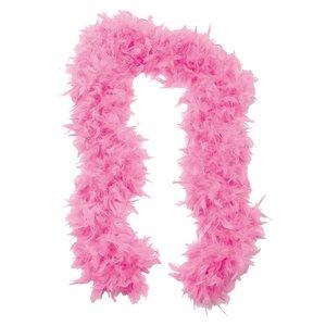 Fjäderboa fluffig - Rosa