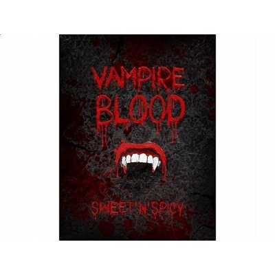Flasketikett - Vampire blood 10 st