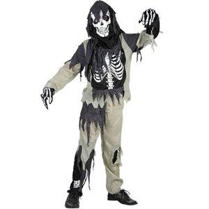 Skelett i trasor - maskeraddräkt barn