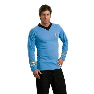 Deluxe klassisk Star Trek tröja blå