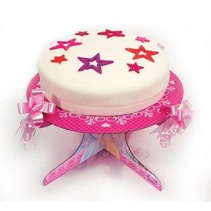 Disney prinsessa glittrande tårtfat