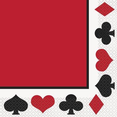 Servetter - Casinofest 16 st
