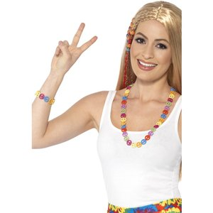 Hippiehalsband & armband
