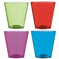 Plast shotglas i flera färger 57 ml - 40 st
