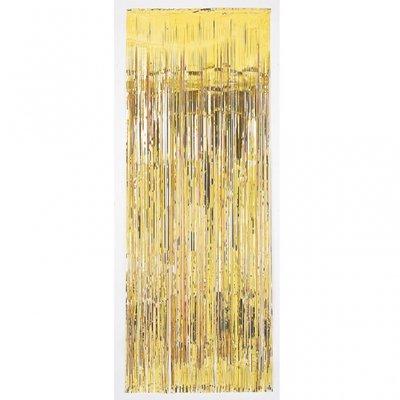 Guldfärgat dörrdraperi - 2.4 m