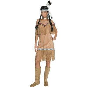 Indiankvinna klänning - maskeraddräkt