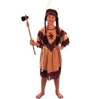 Indian maskeraddräkt klänning - barn
