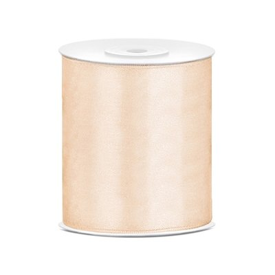 Satinband - Flera olika färger 100 mm x 25 m