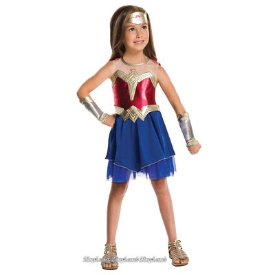Wonder Woman maskeraddräkt - Barn