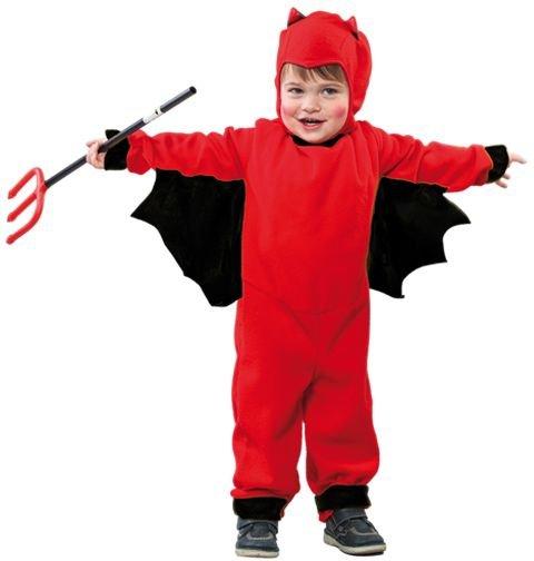 Röd djävul maskeraddräkt barn - 199 kr - Zingland.se 2021050df53af