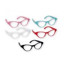 50-tals klassiska Cat Eye glasögon - 10 st