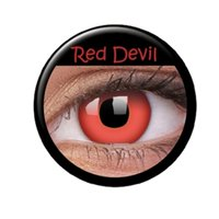 Red Devil med styrka 3-månaderslinser