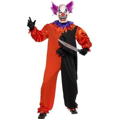 "Ondskefulla cirkusclownen \\\""Bo Bo\\\"" maskeraddräkt"