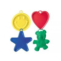 Ballongtyngder - Färgade plastfigurer 8 gram - 10-pack