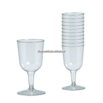 Transparenta vinglas i plast 162 ml - 32 st
