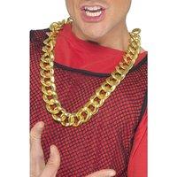Tjockt halsband, guld