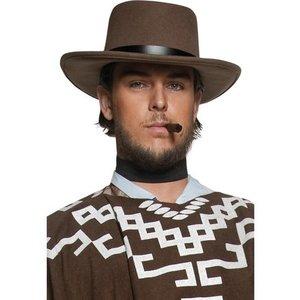 Hatt vilda västern vandrande revolverman