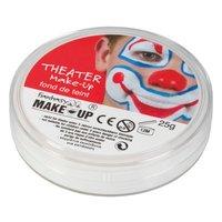 Teater make up (vitt) + fixeringspuder