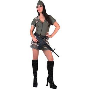 Militär kvinna maskeraddräkt