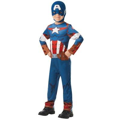 Captain America maskeraddräkt - Barn