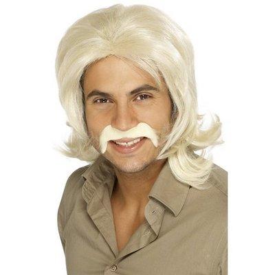 Peruk 70-tals kille blond
