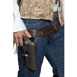 Vilda västern revolverman bälte och hölster