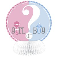 Bordsdekorationer - Pojke eller flicka 15 cm 4 st
