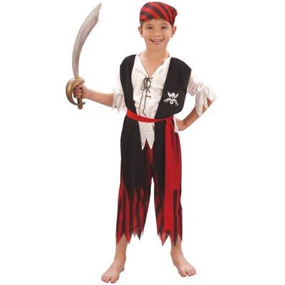 Piratbarn maskeraddräkt