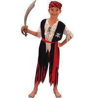 Pirat maskeraddräkt för barn