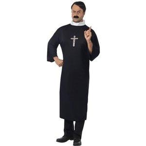 Präst - maskeraddräkt hög krage