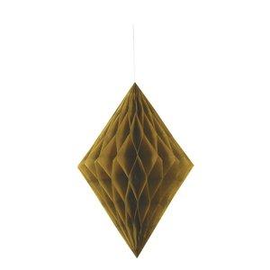 Honeycomb diamant - Guldig