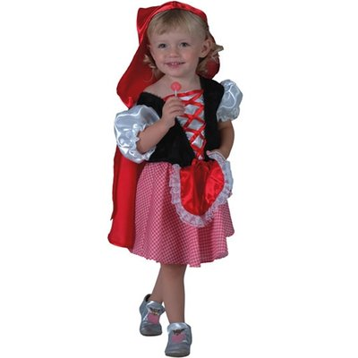 Rödluvan - maskeraddräkt barn