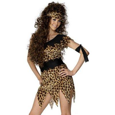Grottkvinna jaguar - maskeraddräkt