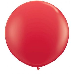 Jätteballong - Röd 80 cm