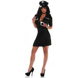Sexig polis maskeraddräkt