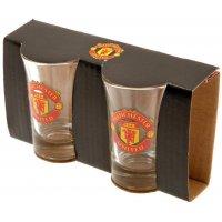 Shotglas - Manchester United 2-Pack