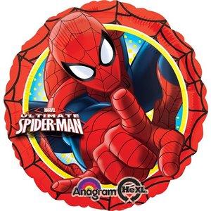 Folieballong - Spindelmannen Action 45 cm