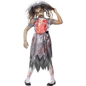 Zombie brud maskeraddräkt