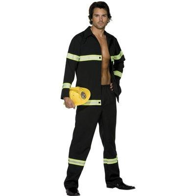 Het brandman maskeraddräkt