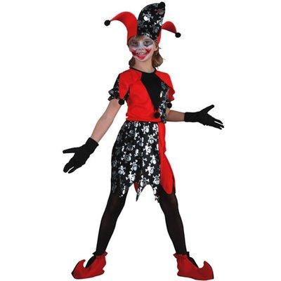 Joker klänning maskeraddräkt - barn