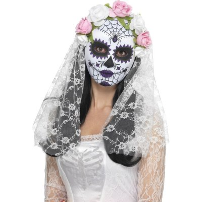Day of the Dead Brudmask