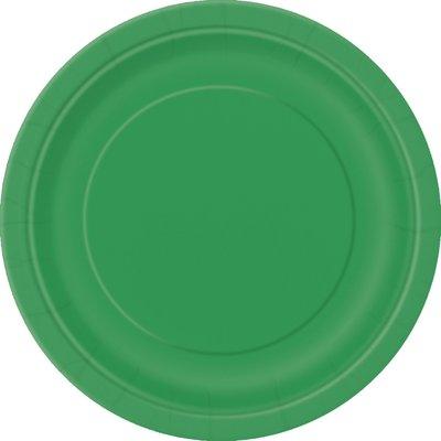 Gröna tallrikar - 23 cm