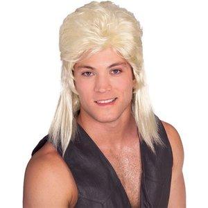 Peruk hockeyfrilla blond