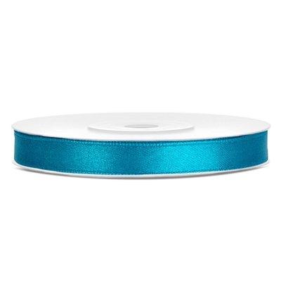 Dubbelsidigt satinband - Flera olika färger 6 mm x 25 m