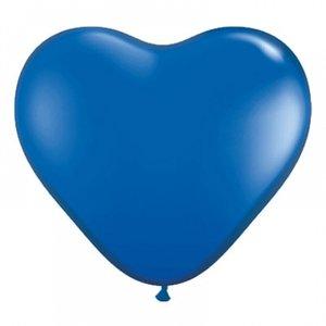 Latexhjärtan - Blå