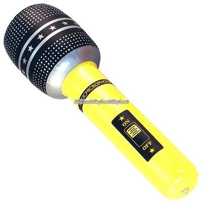 Uppblåsbar mikrofon - 40cm