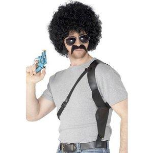 70-tals polis kit svart