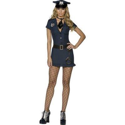 Poliskvinna - maskeraddräkt