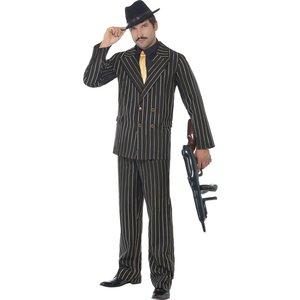 Gangster - maskeraddräkt delux